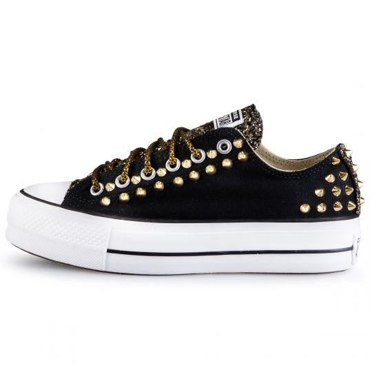 PLATFORM LOW RUNAWAYS BACK GOLD STUDS