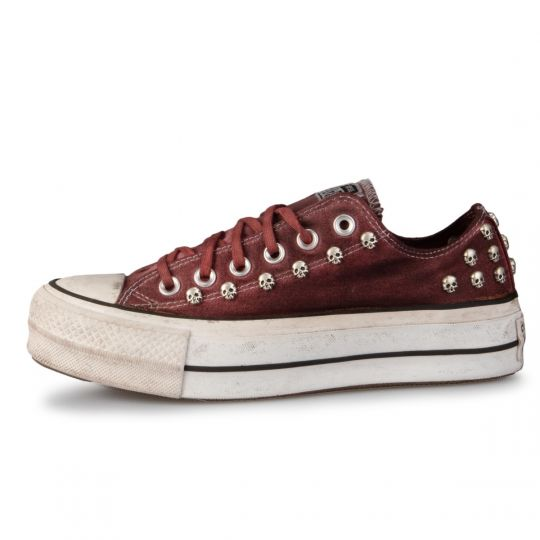 Platform low Rust Skull Dirty Washed