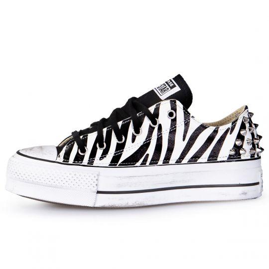 platform low white zebra