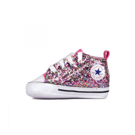 all star hi ROSE GLITTER MULTI CULLA