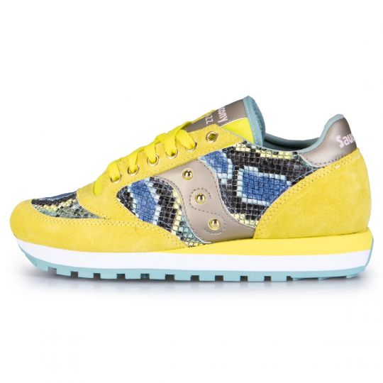 Saucony Jazz Yellow Pytho Multi