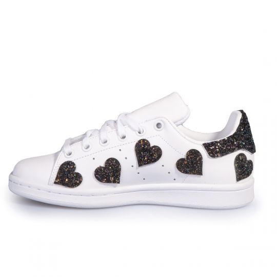 adidas Stan Smith Heart Of Black
