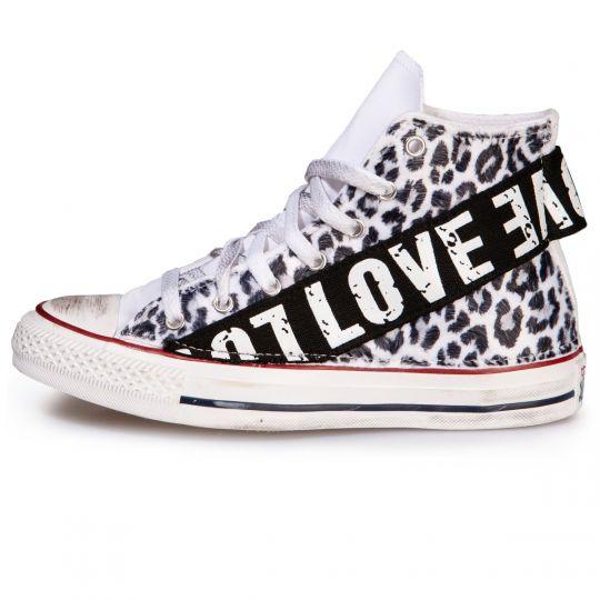 ALL STAR hi LEO LOVE WHITE xx