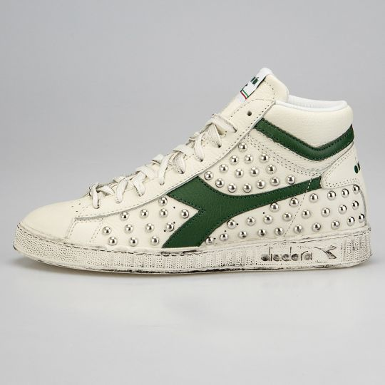 Diadora Game Hi Green Full Studs