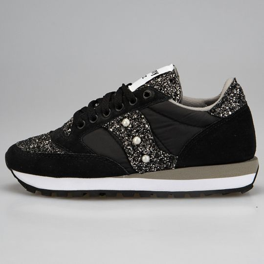 Saucony Jazz Black Runaways Tongue