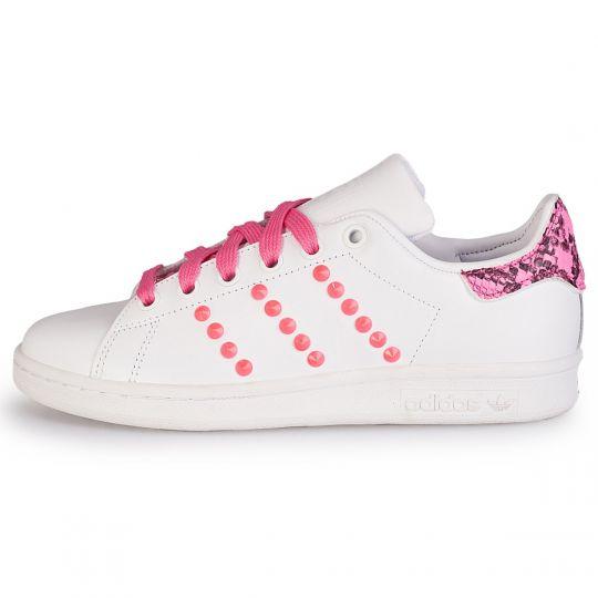 adidas stan smith fuxia snk neon  xx