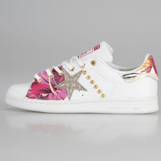 Adidas Stan Smith White Dowel Paradiso