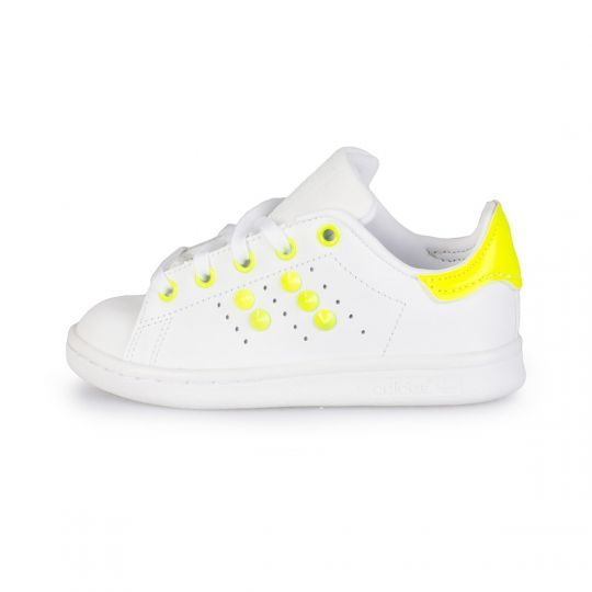 stan smith yellow fluo neon ( 17-34 )