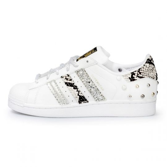 adidas superstar triple pytho glitter