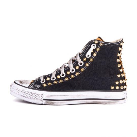 all star hi LEO BLACK BACK xx