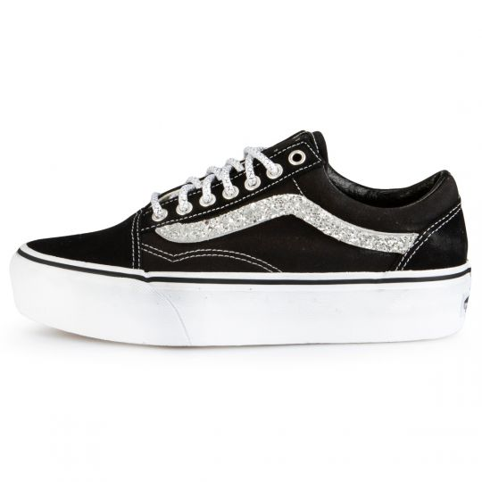 Vans Old Skool Platform Black  Runaways
