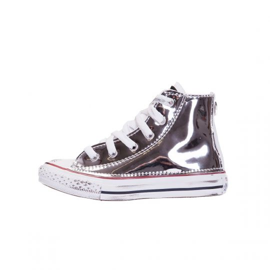 All star hi VINYL SILVER Kid