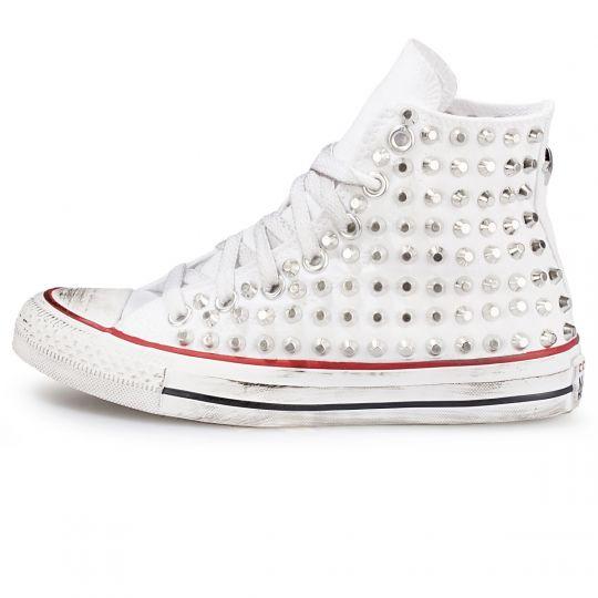all star WHITE CUT