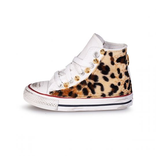 All star hi WHITE TOTAL LEO Kid