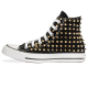 all star BLACK / GOLD POINT