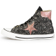 Converse All Star Black De-la stars Dark Rose