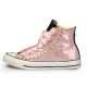 Pink Stars Satin
