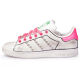 stan smith fuxia neon profile