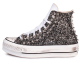 PLATFORM WHITE RUNAWAYS BLACK HI