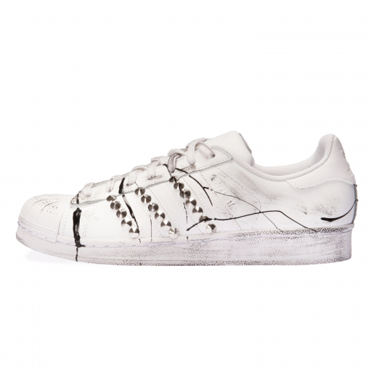 ADIDAS SUPERSTAR ENEMY WHITE