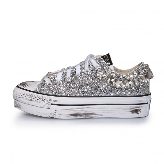 platform low STONED RUNAWAYS SILVER
