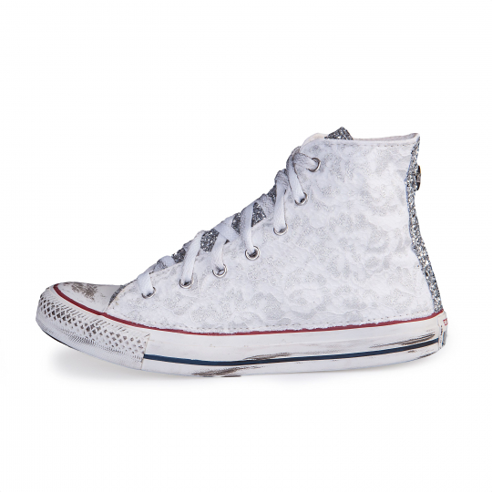 RUNAWAYS LACY SILVER WHITE