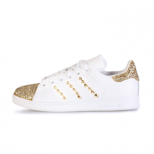STAN SMITH SXM GOLD STUDS