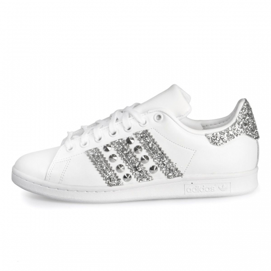 Stan Smith Wu-Tang Silver Studs