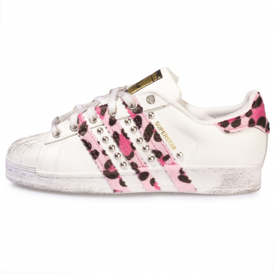 SUPERSTAR STRIPES LEO ROSE