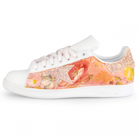Adidas Stan Smith White IMLS Rose Kendo