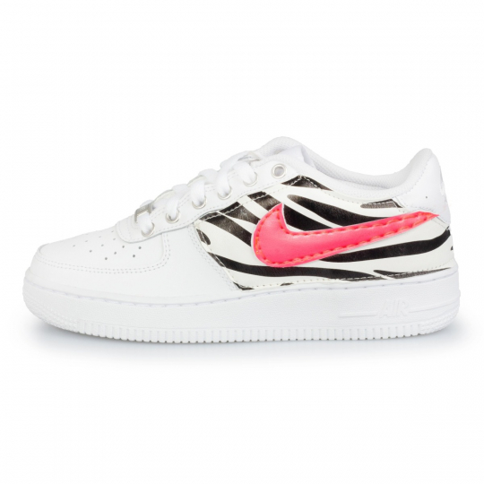 air force low zebra fluo neon
