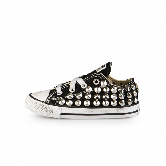 ALL STAR LOW BLACK CONE 20-26