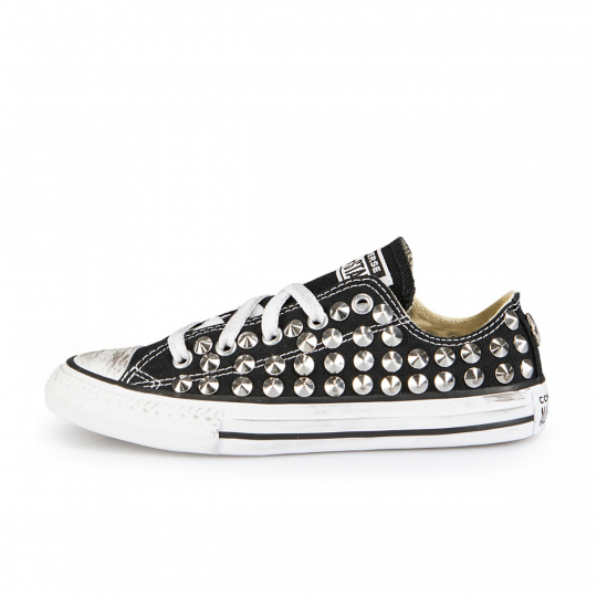 ALL STAR LOW BLACK CONE 27-34