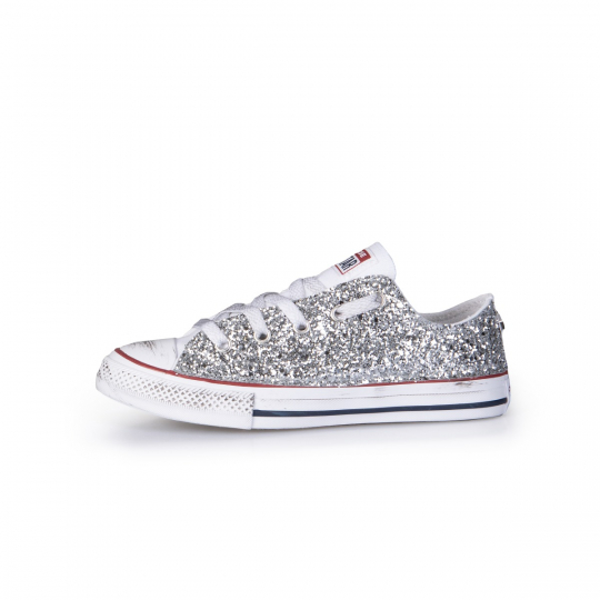 ALL STAR LOW WHITE RUNAWAYS 20-26