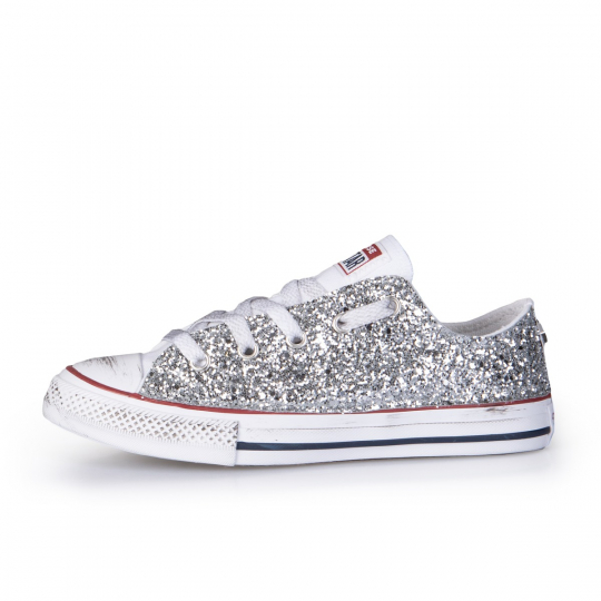 ALL STAR LOW WHITE RUNAWAYS 27-34