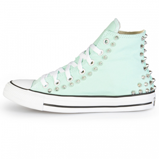 all star mint back studs