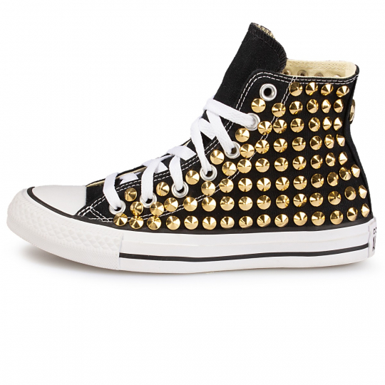 all star BLACK / GOLD CONE ONE STAR