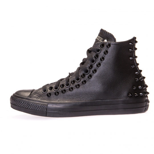 all star mono black pelle