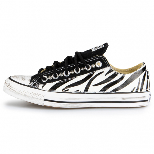 Converse All Star Low Black Zebra