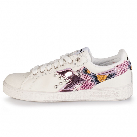 diadora game triple vinyl pytho rose