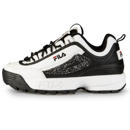 FILA DISRUPTOR II WHITE/BLACK RUNAWAYS