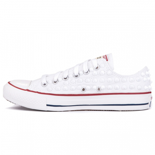 all star OPTICAL WHITE FULL LOW mono