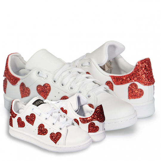 STAN SMITH HEART OF GLASS MOTHER AND DAUGHTER