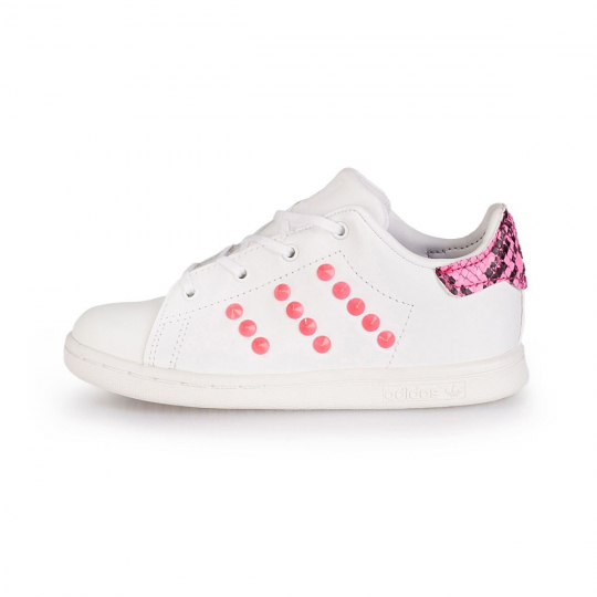 stan smith fuxia pytho neon ( 20-34 )