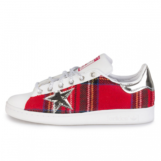 adidas stan smith imls vinyl tartan