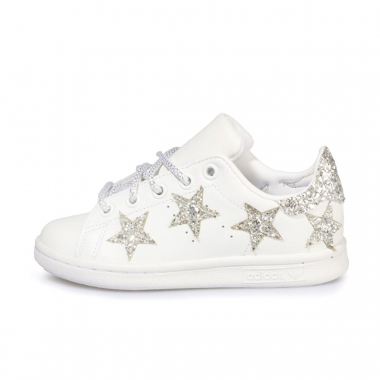 STAN SMITH WHITE SUPERNOVA KID ( 17-34 )