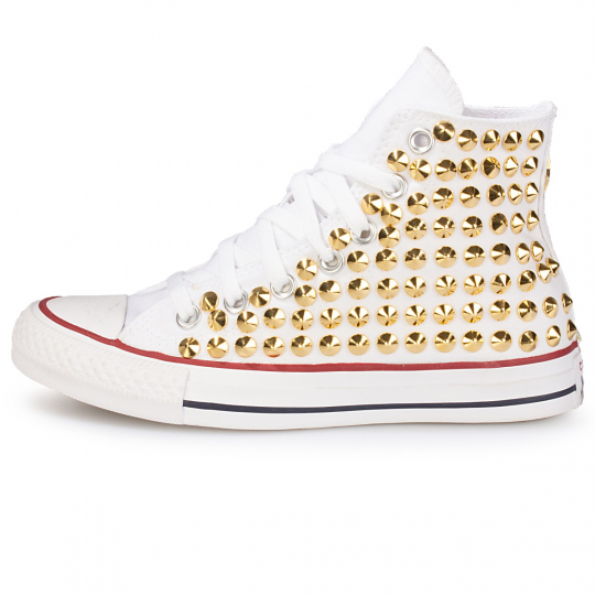 all star WHITE / GOLD CONE ONE STAR