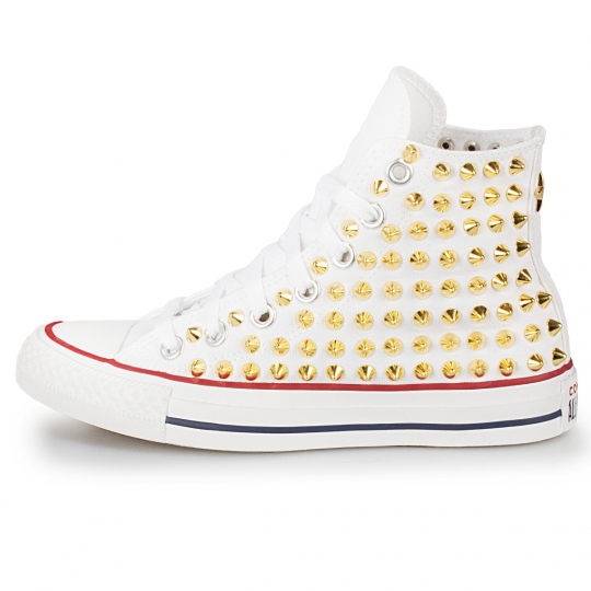 all star WHITE / GOLD POINT