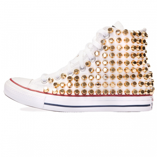 all star WHITE / GOLD ROCK
