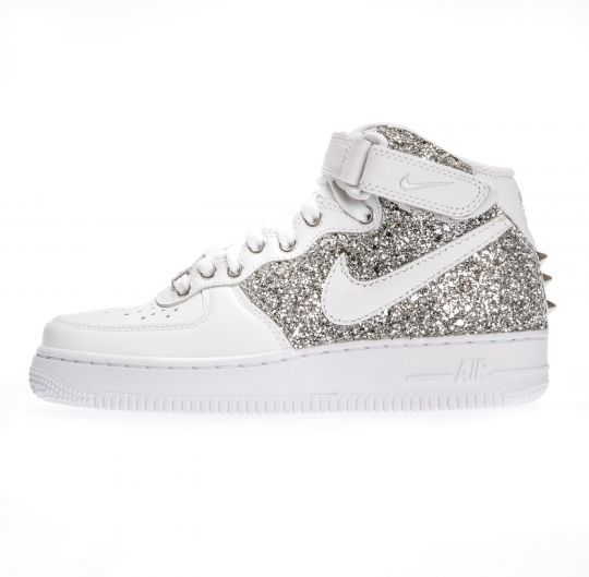 AIR FORCE RUNAWAYS SILVER MID